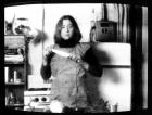 Martha Rosler Semiotics of the Kitchen (1975, video still)