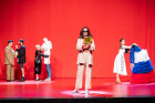Keti Chukhrov / Guram Matskhonashvili,  Global Congress of Post-Prostitution , 2019, performance, Orpheum Graz, photo: Mathias Völzke