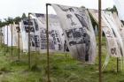 Werker Collective, Textiles of Resistance: Growing, Weaving, Printing, Archiving (2021). © Django van Ardenne