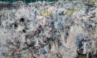 Asger Jorn, Stalingrad, Niemandsland, oder das verrückte Lachen des Muts, 1957–1960, 1967, 1972; Öl auf Leinwand, 296 x 492 cm; © Donation Jorn, Silkeborg/Bildrecht, Wien, 2016. Foto: Lars Bay
