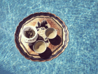 Tea Ceremony in pool, Mallorca, 2016;Image credit: Thirsty Moon
