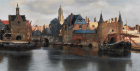 Johannes Vermeer, View of Delft , 1660-1661, Detail. Oil on Canvas. 96.5 cm × 115.7 cm