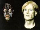 Andy Warhol robot, built byAlvaro Villa and his company AVG