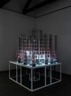 Where Dogs Run, Zero City , 2018–2019. Installation. Installation View, Time, Forward! . Photo: Delfino Sisto Legnani e Marco Cappelletti.